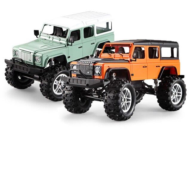 DOPPEL E 4WD 2,4 ghz Fernbedienung Land Rover Geländewagen Raupen Klettern Rc Autos Modell Elektrische Spielzeug für Jungen Kinder