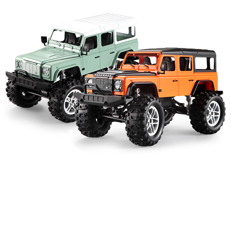DOUBLE E 4WD 2.4GHz Remote Control Land Rover Off-road Vehicle Crawler Climbing Rc Cars Model Electric Toys For Boys Children