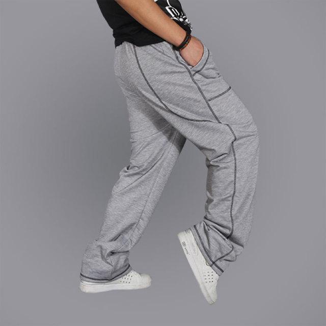 Frete Grátis Venda Quente Hop Hop Dança Calça Casual soltas masculinos Calças de Lazer Da Moda Calças Soltas Calças Casuais
