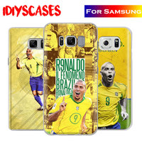 Brazil Ronaldo Creative Coque Phone Case Shell Cover Bag For Samsung Galaxy S4 S5 S6 S7