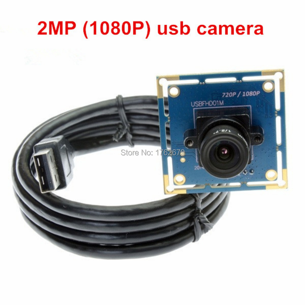 ELP 1080P Camera Module 2mp 2.0 megapixel 1920*1080 CMOS OV2710 HD Usb endoscope camera board Mini for Android Linux USB Webcam elp high speed 2mp cmos ov2710 module wide view angle fisheye uvc android linux ir led board night vision hd usb camera 1080p