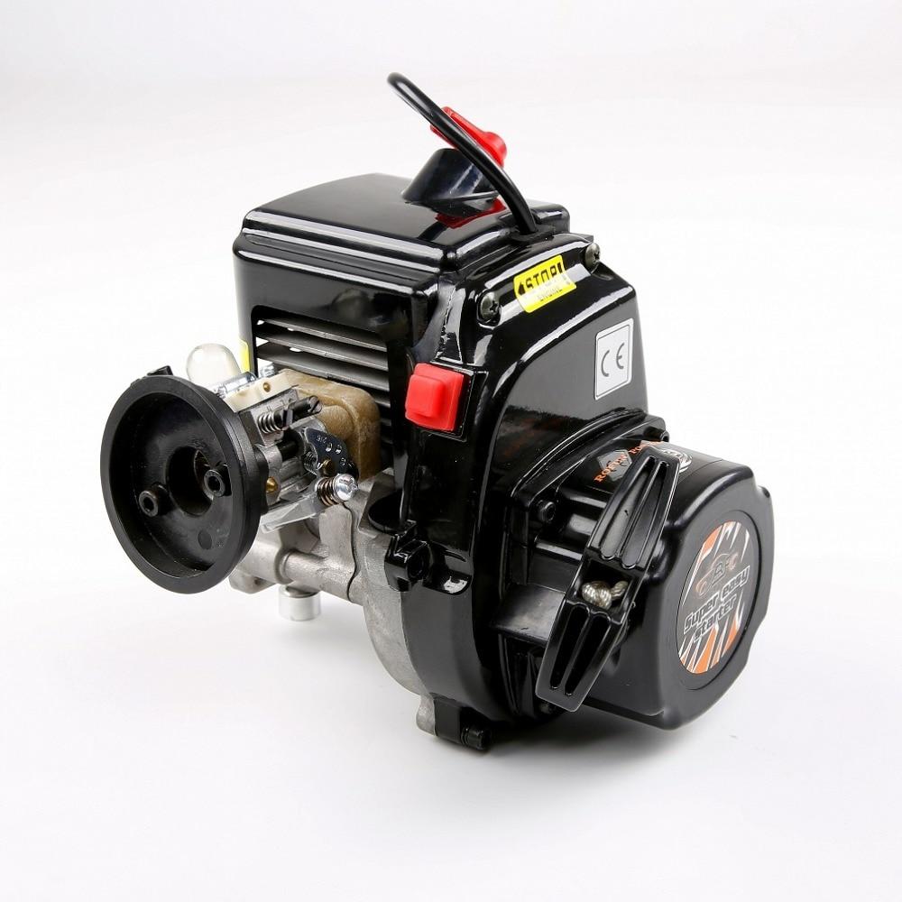 1/5 rc pièces de moteur 45CC 4 boulons Moteur avec Walbro 1107 carbu et NGK bougie d'allumage 810222 pour Losi 5ive-t KM X2 Rovan LT HPI baja