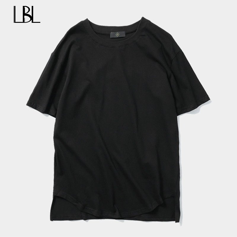 Army Green Clothing Trend Casual Solid Tee Shirt 2018 New Summer Fashion Mens Cotton T Shirts O-Neck Slim Fit Short Sleeve Shirt