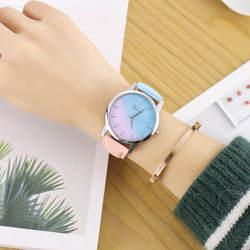 Женские часы красивые модные простые часы женский кожаный пояс часы подарок для дамы Наручные часы relogio дропшиппинг