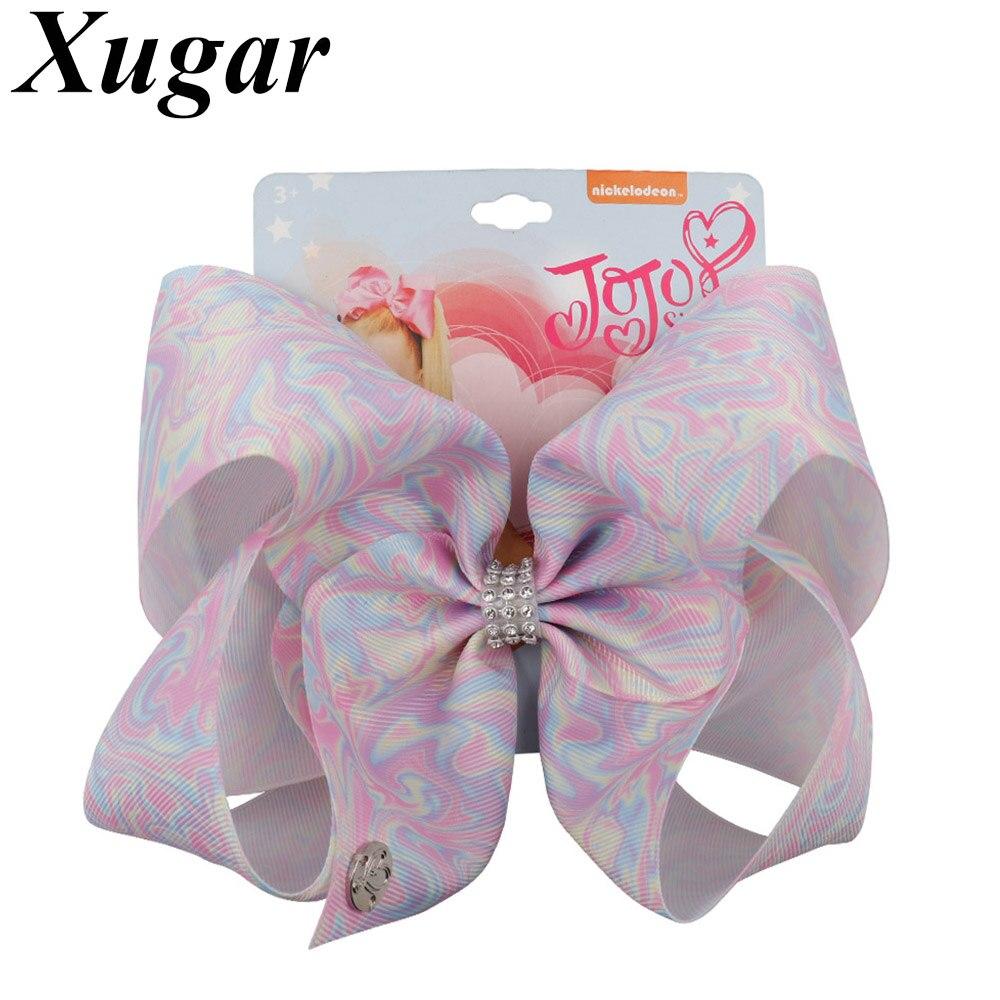 "7"" grosgrain ribbon jojo bows"