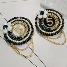 2018 New Hot Selling Rhinestones Brooches Women Europe And America Fashion Pearl Brooch Pins Jewelry