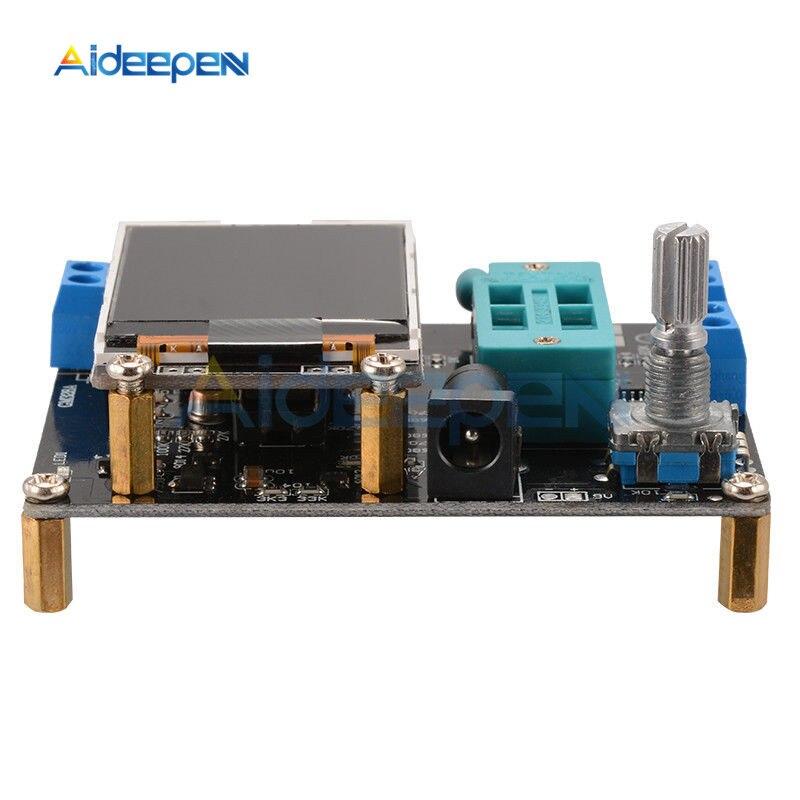 GM328A ЖК-транзистор чехол для тестера английский/русский диод емкость ESR напряжение частотомер ШИМ квадратный генератор сигналов