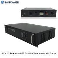 UPS Pure Sine Wave Inverters 19 Rack Mount Telecom with charger 1000VA/1KVA 12V/24V/48V to 120V/220V