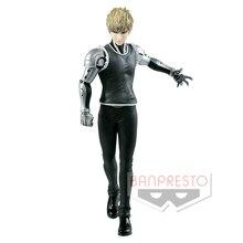 Tronzo Original Banpresto One Punch Man DXF Premium Figure Genos PVC Action Figure ของเล่นอะนิเมะ Saitama Genos Figurine Jouet