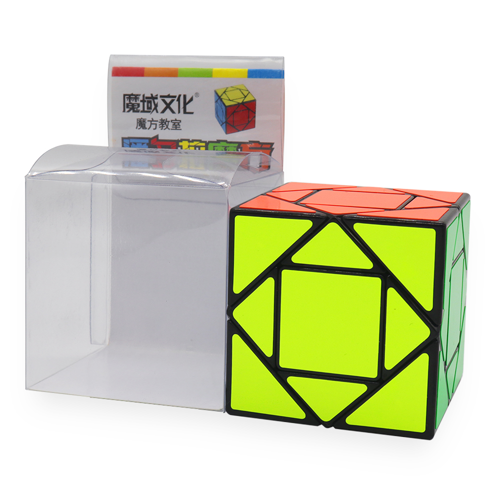 MF8847 Mofang Jiaoshi Pandora Magic Cube Educational Toys For Brain Trainning - Black