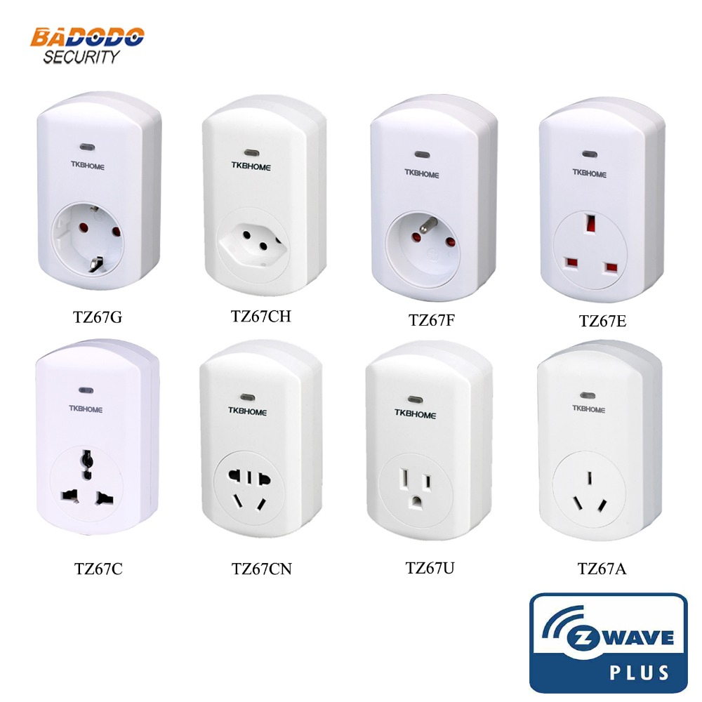Z Wave Plus Switch Dimmer Socket Tkbhome Tz67 Dimmer Plug