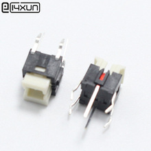 5pcs 6*6*7mm Tactile Tact Mini Push Button Switch 6x6x7mm Micro Switch with Red Light for LED