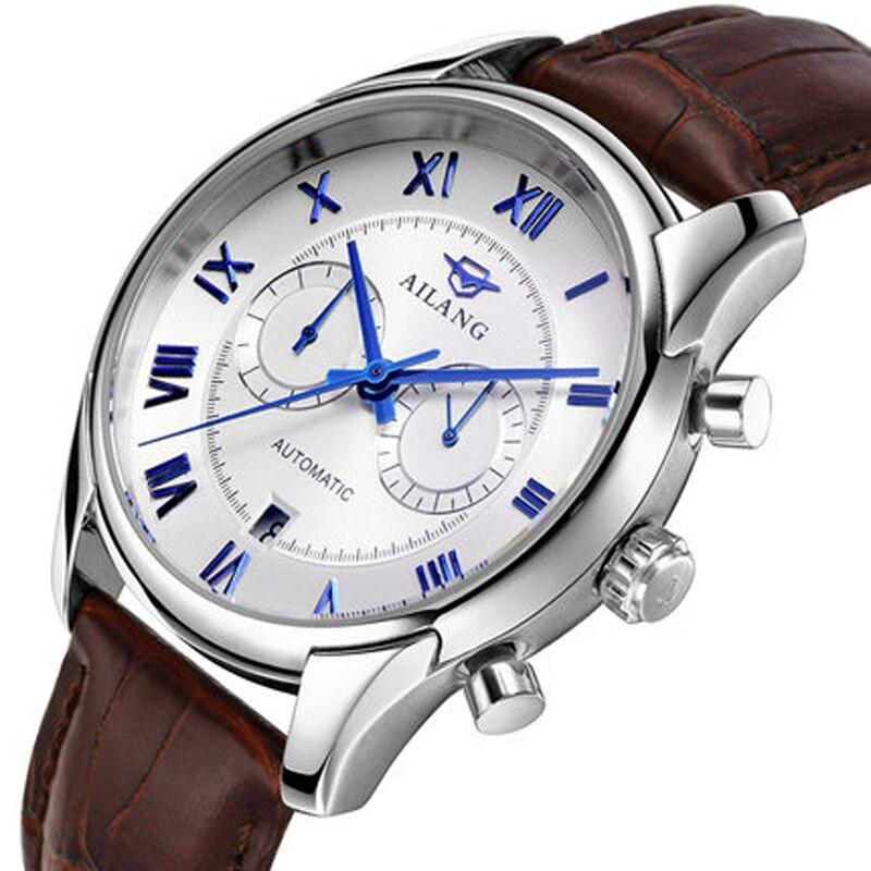 AILANG décontracté mode montre hommes étanche marque de luxe Sport montres mécaniques Relogio masculino horloge or robe montre-bracelet