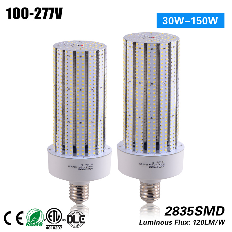 120W retrofit E40 LED corn light replace 350w 3 years warranty CE RoHS ETL free shipping replacement 200w hps 60w led retrofit kit e40 e39 ce etl rohs