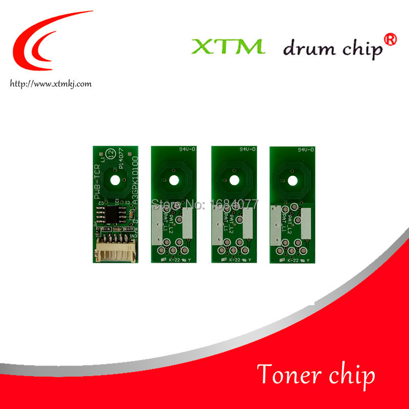12X Drum chip IUP 24 for Minolta Bizhub C3351 C3851 K C M Y cartridge chip
