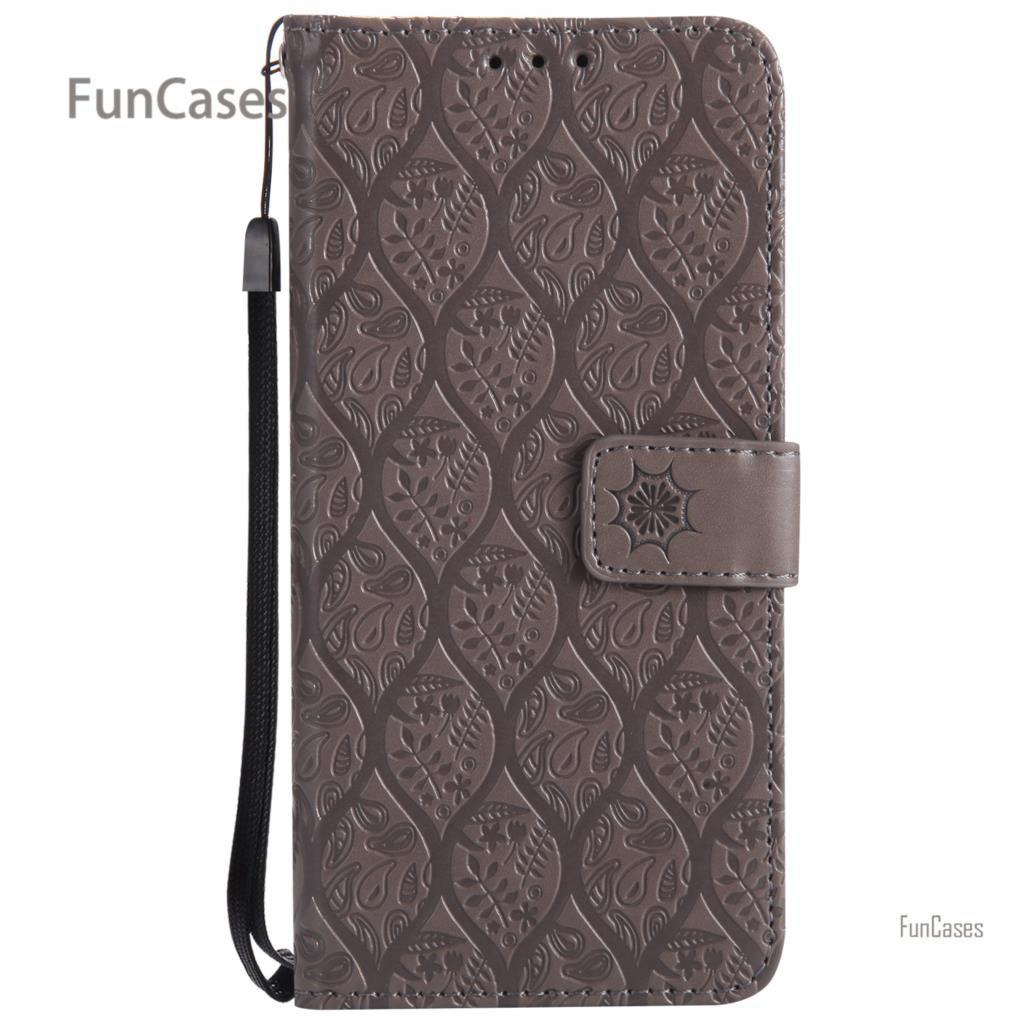 Vigne Style Flip Cas la sfor Aksesuar Samsung A8 2018 PU En Cuir sac Téléphone Floral Téléphone Etui Cas la sfor Samsung Galaxy A8 2018 A530