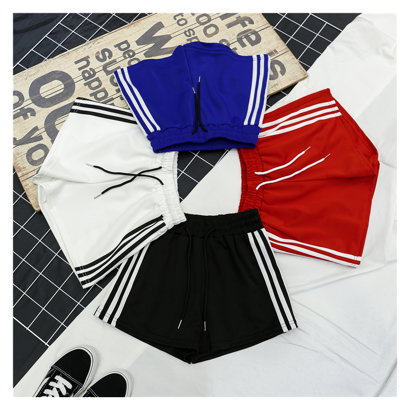 Wholesale Summer   Shorts   Women Casual Workout   Shorts   Women's Fitness   Shorts   4 colors S-XXL