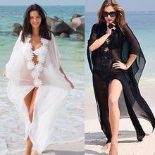 Fghgf платье для медового месяца Пляжная накидка кружевное пляжное