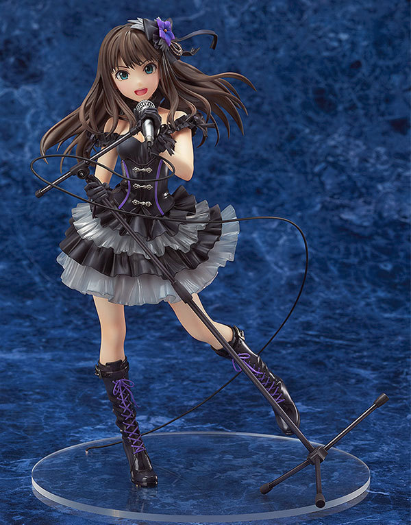 20CM THE IDOLM@STER Cinderella Girls SHIBUYA RIN Anime Collectible Action Figure PVC toys for christmas gift free shipping good smile1 8 the idolm ster cinderella girls rin shibuya figure new in original box