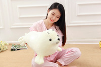 big creative plush sea lion toy lovely stuffed white sea lion doll gift about 60cm