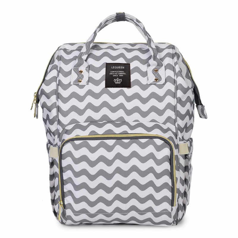 Детские пеленки сумка рюкзак для мам водонепроницаемый для мамочек для ухода за ребенком сумка для детских пеленки для ухода сумки коляска Органайзер Влажные Сумки