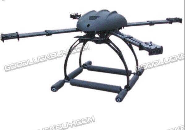 ATG X4 680mm Dual Arm Carbon Fiber Quadcopter AirCraft Frame- Dual Track Balance ...
