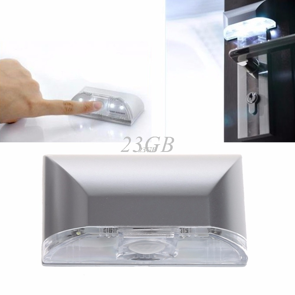 2017 NEW PIR Infrared IR Wireless Auto Sensor Motion Detector Keyhole Light 4 LED Lamp MAY05_25