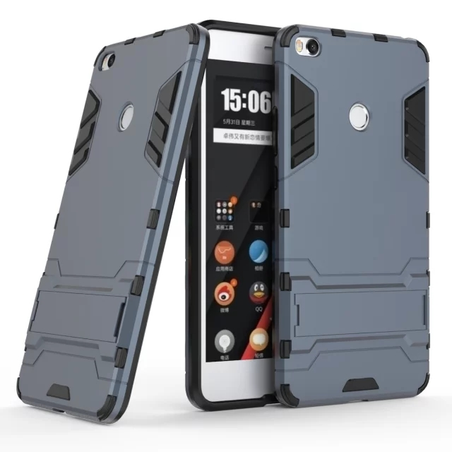 IVI Cover for Xiaomi mi max 2 Case Armor Shockproof Holder Phone Cases Covers mi max