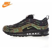 Nike Air Max 97 Premium 97 Country Camo Japan Men's Running Shoes ,Green Yellow,Sliding Anti-slip  AJ2614-202  AJ2614 203