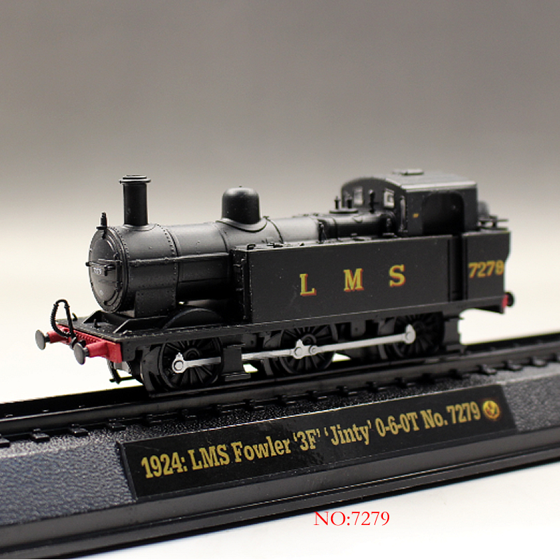 Modeli vozova, tramvaja A-MER-1-76-British-locomotive-alloy-Train-model-boutique-toys-for-children-kids-toys-Model