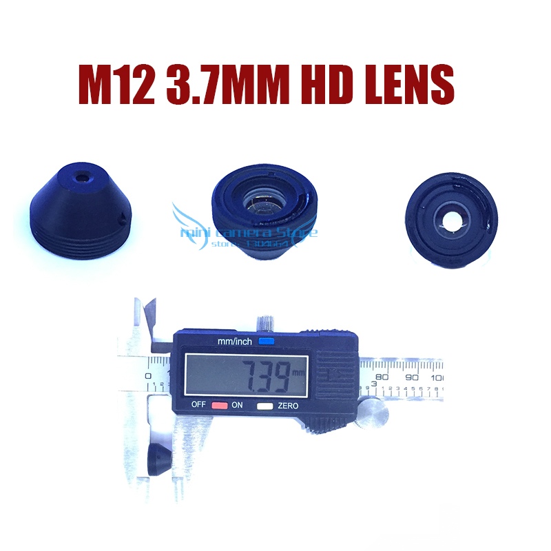 HD M12-3.7MM MINI Pinhole CCTV lens for cctv video surveillance camera CCD/CMOS/IPC/AHD IP Cctv Camera DIY Module Free shipping gotake mini security camera cctv ahd 1080p 3 7mm pinhole lens 1 3 ccd wired surveillance analog video bullet type with stand