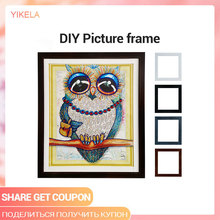 5 Size Wooden Frame DIY Picture Frames Diamond Painting Cross Stitch Oil Painting Frame Handmade Work Diamond Embroidery Tools
