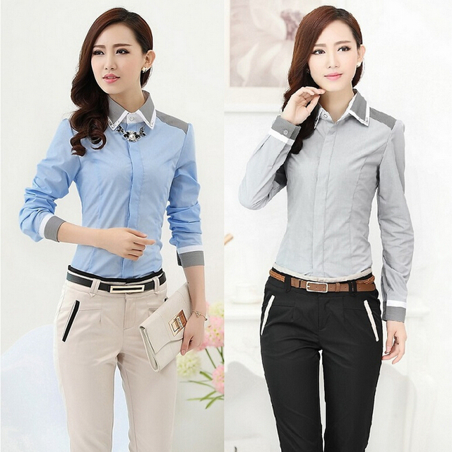 2015 New Formal Pantsuits Women Business Suits with Pant and Top Sets  Fashion Office Ladies Professional 48d2541be55f