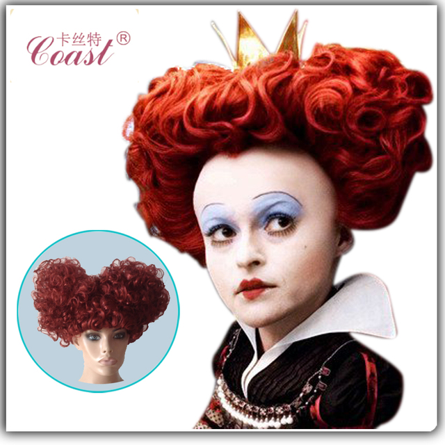 Adult Alice Electric Mad Hatter Halloween Wig Use Heat