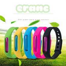 3 Pcs Estate Wristband Del Silicone Efficace Repellente Della Zanzara Braccialetto Insetto Killer Bambini Adulti Anti zanzara Bande Dropship(China)