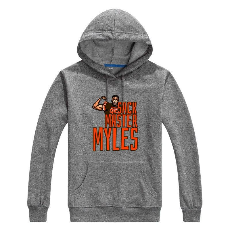 Asian size 2018 MYLES GARRETT Men warm Sweashirt Women hoodies for gfit 1010-2