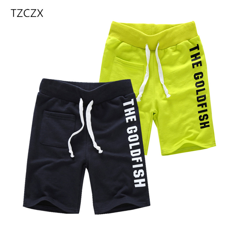 TZCZX-2525 Hot sale Children boy's Shorts Fashion Print Letters 100% Cotton Children Shorts For 4-9 years kids wear подвесная люстра mw light 695010206