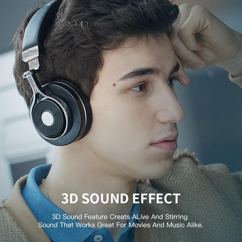 Bluedio T3 Bluetooth bežične slušalice 3D bas slušalice s - Prijenosni audio i video - Foto 5