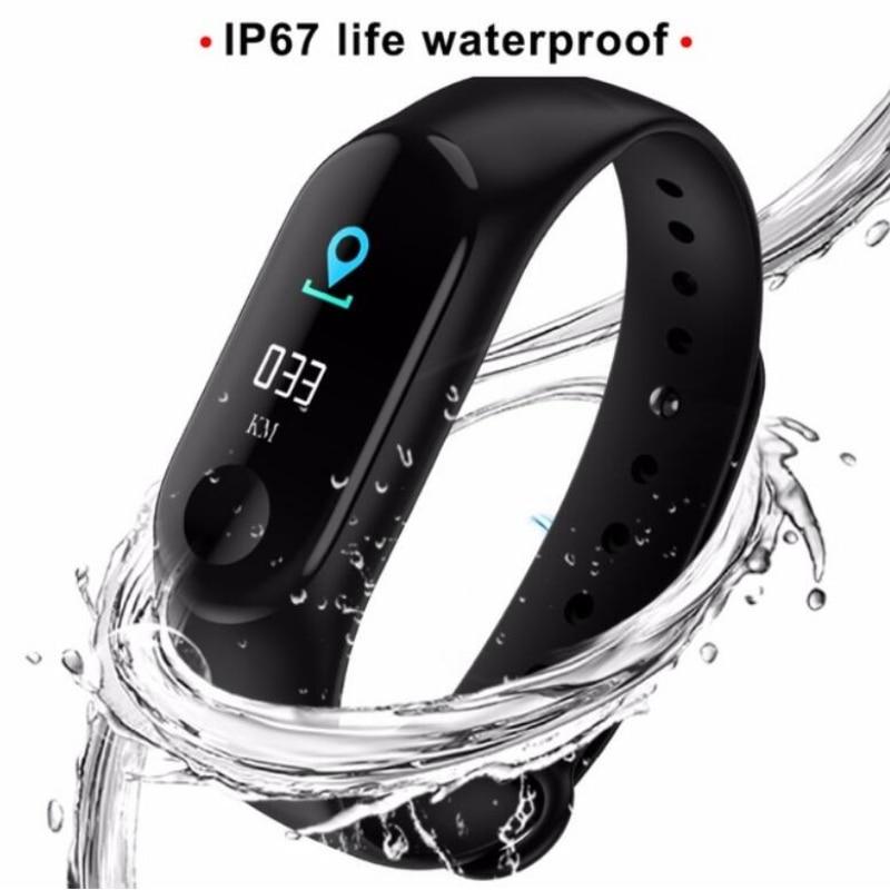 M3 умный Браслет для фитнеса Цвет ips Экран Спорт Смарт часы Для мужчин Для женщин IP67 Водонепроницаемый крови Давление кислорода трекер купить на AliExpress