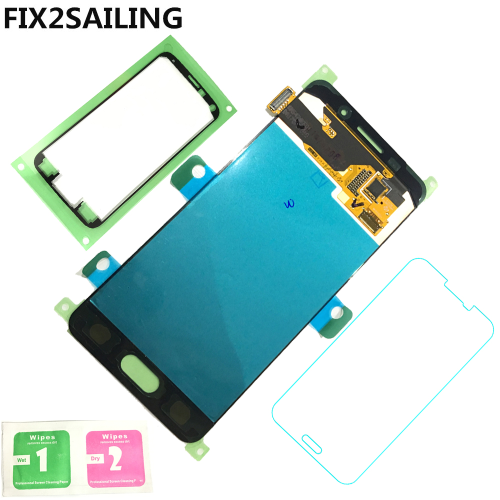LCD Display Super AMOLED 100 Tested Working Touch Screen Assembly For Samsung Galaxy A3 2016 A310
