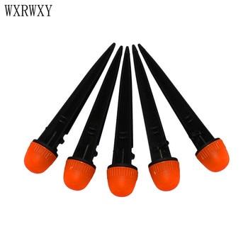 Wxrwxy Garden DRIPPERS adjustable nozzle garden watering sprinklers drip irrigation drippers barbed 1/4