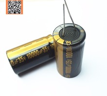 original T17 Low ESR/Impedance high frequency 35v 10000UF aluminum electrolytic capacitor size 22*40mm 10000UF35V 35V10000UF