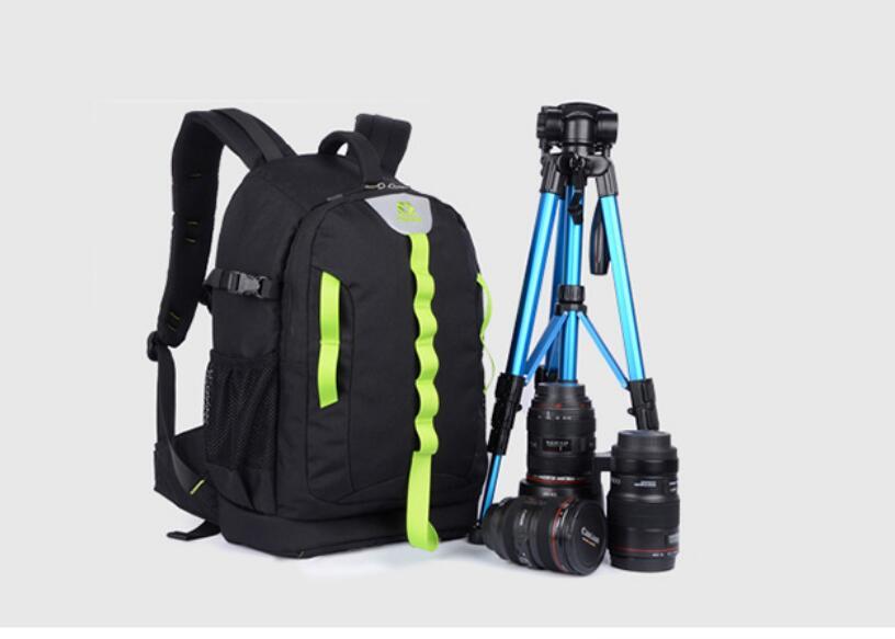 SY18-Black Professional Waterproof Outdoor Bag Backpack DSLR SLR Camera Bag Case For Nikon Canon Sony Pentax Fuji micro camera compact telephoto camera bag black olive