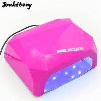 Jewhiteny 36 Вт UV LED лампы для ногтей сушилка в форме ромба светодиодные лампы ногтей отверждения для uv гель Гвозди польский Дизайн ногтей инструм...