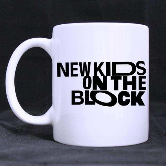 New Kids On The Block Custom Made Design Coffee Mugs Tea Beer Mug White Water Cups