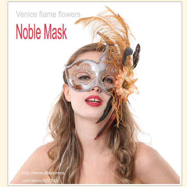 luxurious sex party mask half face many colors for Halloween&Christmas sexy Venice fashion mask blindages