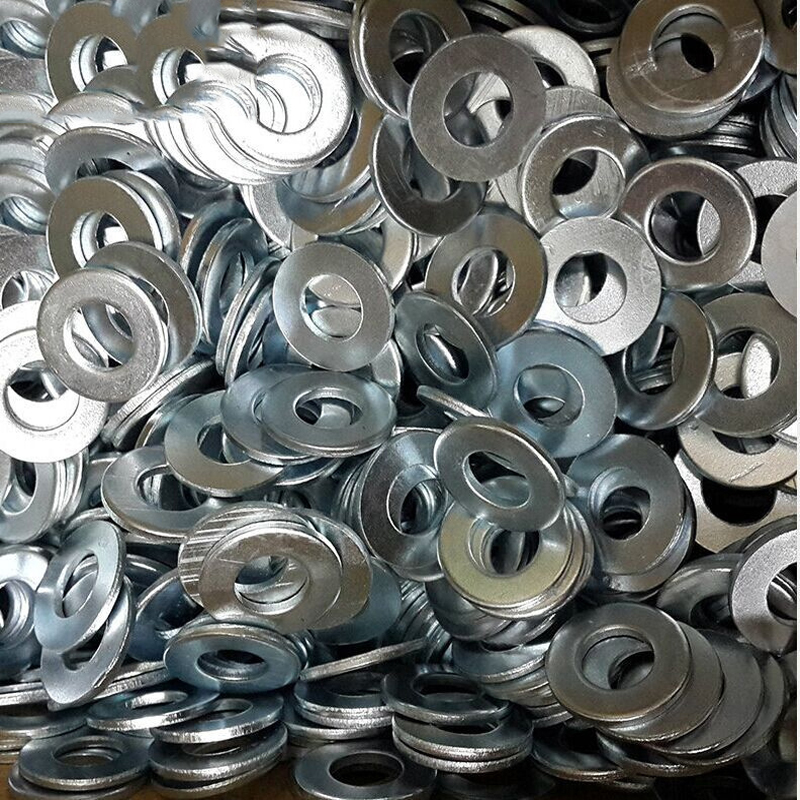 100PCS Low Price High Quality Galvanized Flat Pad / Flat Washer/Washer M2.5/3/4/5...M12 GB97