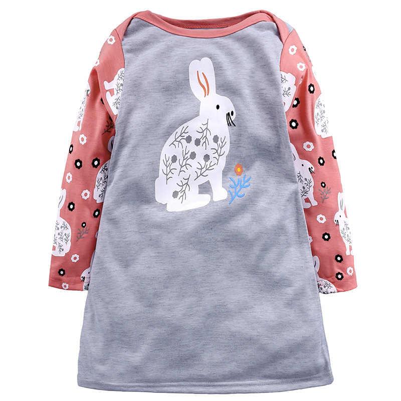 חג המולד בנות שמלת פסים חמודים בעלי החיים שמלת עבור ילדה חדש שנה קריקטורה מסיבת שמלות תינוקת בגדי ילדים שמלות עבור בנות