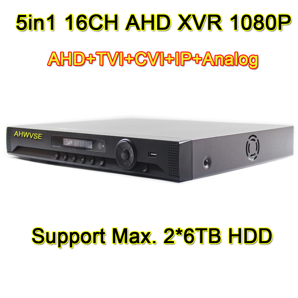 AHWVSE 16CH AHD-H 1080P 960P 720P AHD DVR 2MP 5in1 AVR Video Recorder NVR TVI CVI IP AHD Analog DVR Free ShippingAHWVSE 16CH AHD-H 1080P 960P 720P AHD DVR 2MP 5in1 AVR Video Recorder NVR TVI CVI IP AHD Analog DVR Free Shipping