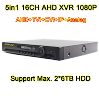 AHWVSE 16CH AHD H 1080P 960P 720P AHD DVR 2MP 5in1 AVR Video Recorder NVR TVI